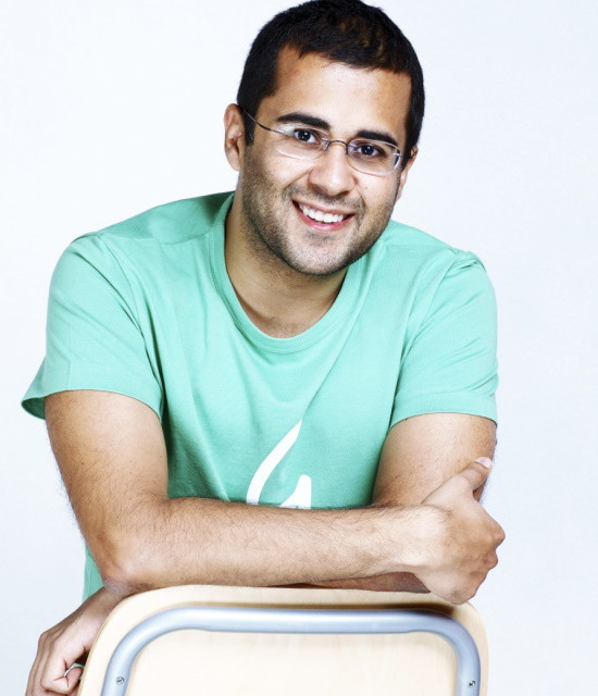 Bollywish is a video shoutouts platform for Fans and Brands Chetan Bhagat